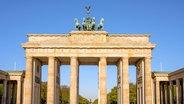 Das Brandenburger Tor in Berlin. © picture alliance / Zoonar / elxeneize Foto: picture alliance / Zoonar / elxeneize