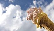 Auf dem Foto ist Speiseeis aus der Eisdiele zu sehen. © imago/Westend61