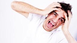 Gestresster Typ © picture alliance / Bildagentur-online/Begsteiger