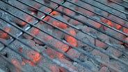 Glühende Kohle unter einem Grillrost. © apl_d200 / photocase.de