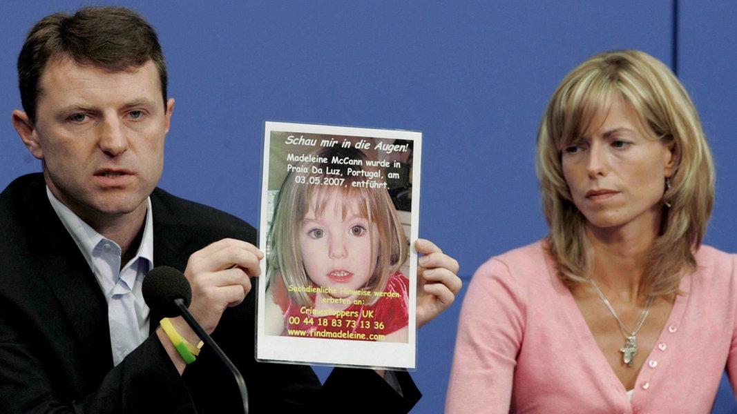 """Vermisste """"Maddie"""": 43-Jähriger unter Mordverdacht"""