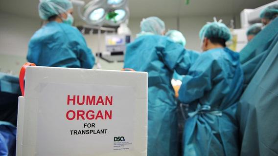 Im OP wird ein Organ transplantiert. © DSO Foto: J. Rey