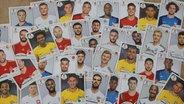 Panini-Sammelbilder zur Fußball-WM 2018. © picture alliance/APA/picturedesk.com