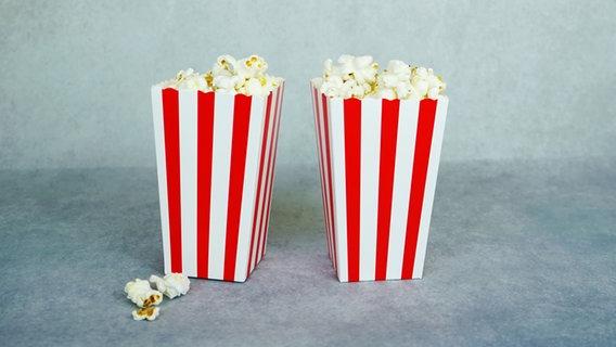 Zwei Schalen mit Popcorn. © nanihta / photocase.de Foto: nanihta / photocase.de