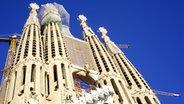 La Sagrada Familia in Barcelona. © imago/CTK Photo