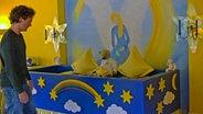 Der Abschiedsraum in einem Kinderhospiz. © NDR/Nikolas Müller Foto: Nikolas Müller