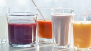 Frische Smoothies © picture alliance/Bildagentur-online