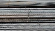 Stahl im Lager eines Stahlhändlers. © picture alliance / Frank May Fotograf: Frank May