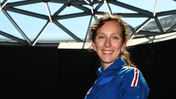 Die Astrophysikerin Dr. Suzanna Randall will Deutschlands erste Astronautin werden. © picture alliance / Felix Hörhager/dpa Foto: Felix Hörhager