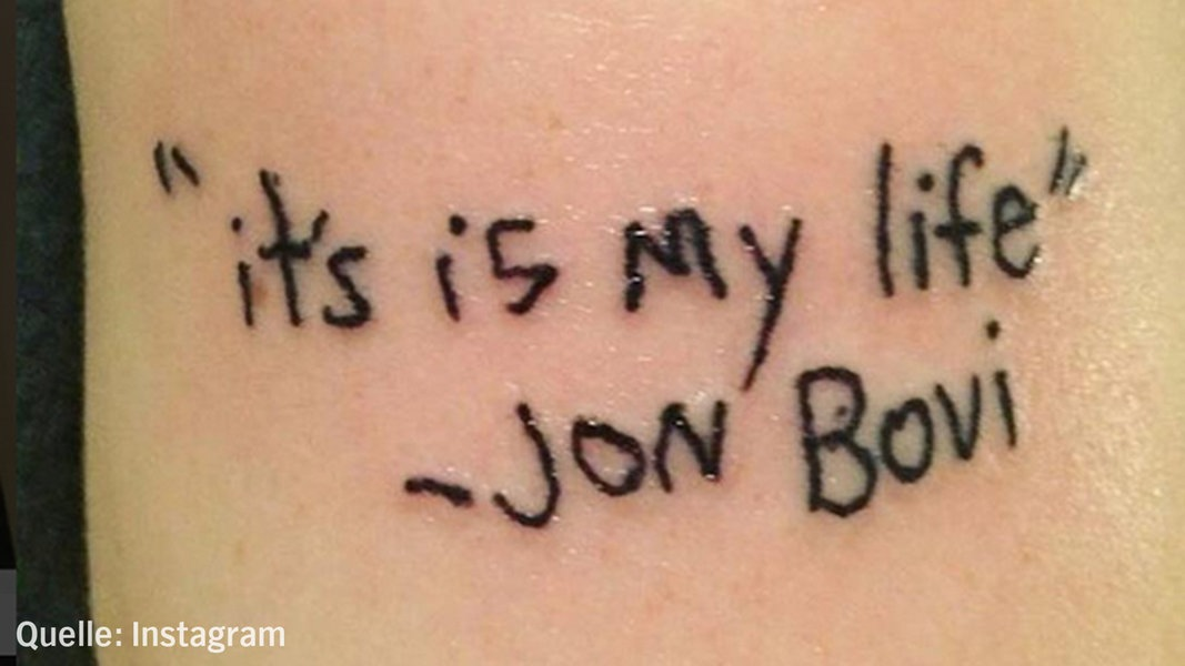 Das Tut Weh 15 Peinliche Tattoo Fails N Joy Leben