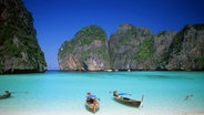 Lagune Ko Phi Phi in Thailand © picture alliance/CPA Media Foto: Oliver Hargreave