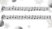 Melodie: Alle Jahre wieder © wikipedia