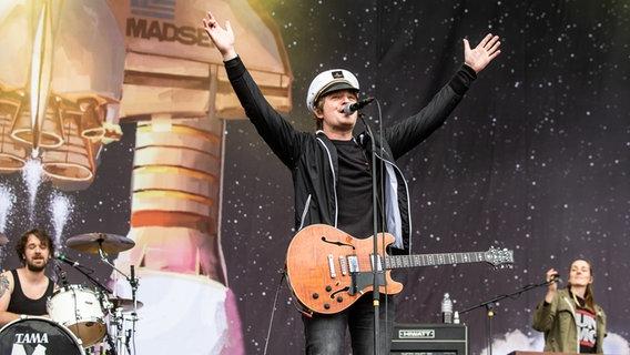 Madsen auf dem Hurricane Festival 2018 in Scheeßel.