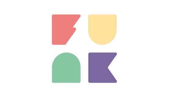 """Zu sehen ist das Logo des neuen jungen Angebots von ARD und ZDF """"Funk"""" auf einem grauen Hintergrund. © NDR Foto: NDR"""