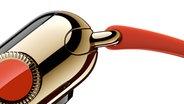 Ein Detail der neuen Apple Watch. © Apple Foto: Apple