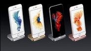 Produktimpressionen von der Apple Keynote in San Francisco, auf der das iPhone 6s, das iPad Pro, neue Apple Watches und ein verändertes Apple TV vorgestellt wurden. © Apple Foto: Screenshot
