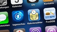 Screenshot verschiedener Apps auf dem Smartphone  Fotograf: Udo Lewalter