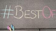 Best Of mit Kreise auf den Boden geschrieben © N-JOY Foto: Eva Köhler