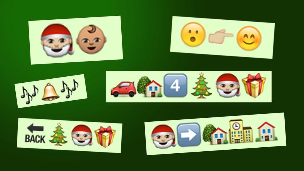songs im emoji style christmas edition n joy digitales. Black Bedroom Furniture Sets. Home Design Ideas