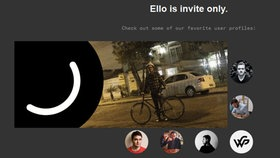 Screenshot von der Ello Website  Fotograf: Screenshot Ello Website
