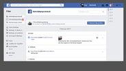 Screenshot der Privatsphäreeinstellungen bei Facebook © Facebook / Privat Fotograf: Screenshot