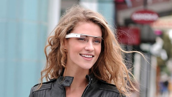 Bild von Googles Project Glass © Google