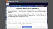 Identity Leak Checker: Suchmaschine, die das Netz nach geklauten Zugangsdaten durchsucht. © Hasso-Plattner-Institut Foto: Screenshot