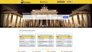 Screenshot der Webseite Klickbus.de © Clickbus Germany GmbH