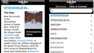 Screenshot von Lonely Planet-App © Lonely Planet