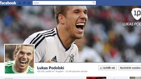 Screenshot Facebookseite von Lukas Podolski © facebook.com