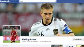 Screenshot Facebookseite von Phillip Lahm © facebook.com