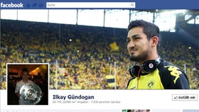 Screenshot Facebookseite von Ilkay Gündogan © facebook.com