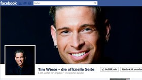 Screenshot Facebookseite von Tim Wiese © facebook.com