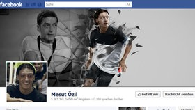 Screenshot Facebookseite von Mesut Özil © facebook.com