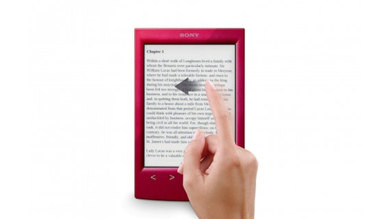 Bild des Sony E-Readers PRS-T2 © Sony
