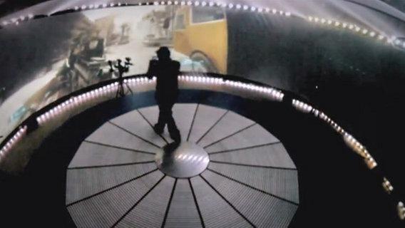 Das Bild zeigt das Battlefield 3 Experiment der Gadget Show auf Channel 5 © Channel 5 Broadcasting Ltd.