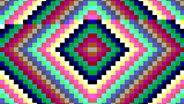 Farbenfrohe PC-Viren: Damals in den 1980ern © Screenshot: Archive.org