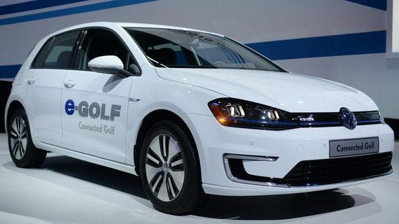 VW zeigt auf der CES 2016 in Las Vegas neue Elektro-Autos © NDR Foto: Britta Pedersen