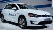 VW zeigt auf der CES 2016 in Las Vegas neue Elektro-Autos © NDR Fotograf: Britta Pedersen