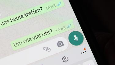 Leere schicken iphone nachricht whatsapp WhatsApp auf