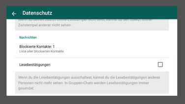 Whatsapp kontakte unsichtbar machen android
