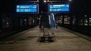 Der Hauptbahnhof Hamburg um halb 4 Uhr Morgens, komplett menschenleer. © N-JOY Fotograf: Eva Köhler
