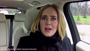 "Screenshot: YouTube-Video ""Adele Carpool Karaoke"" © YouTube/ The Late Late Show with James Corden"
