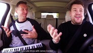"Screenshot: YouTube-Video ""Chris Martin Carpool Karaoke"" © YouTube/ The Late Late Show with James Corden"