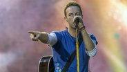 Das Bild zeigt den Sänger der Band Coldplay © picture alliance Fotograf: Photoshoot