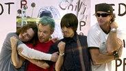 Die Band Red Hot Chili Peppers © epa efe Mondelo
