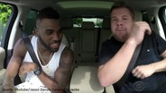 "Zu sehen ist ein Screenshot aus dem Youtube-Video ""Jason Derulo Carpool Karaoke"". © Youtube / The Late Late Show with James Corden Fotograf: Screenshot: https://www.youtube.com/watch?v=3fJ-TdyZtKE"