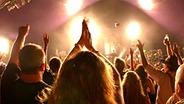 Publikum bei einem Konzert © picture-alliance / photoshot
