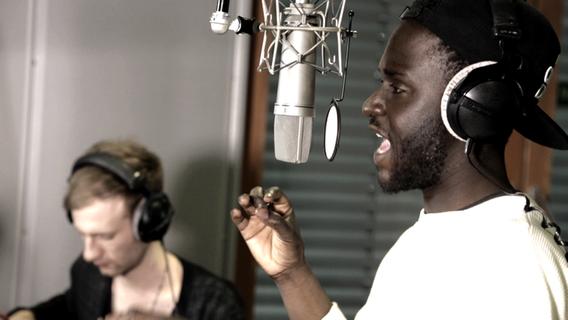 Kwabs singt im NDR-Studio. © NDR Foto: NDR