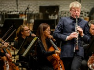 Klarinettist Martin Fröst in der Elbphilharmonie © Benjamin Hüllenkremer/ NDR Fotograf: Benjamin Hüllenkremer
